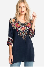Johnny Was Shaylee Embroidered Tunic - Product Mini Image