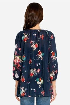 Johnny Was Sherry Embroidered Tunic - Alternate List Image