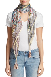 Johnny Was Silk Patterned Scarf - Product Mini Image