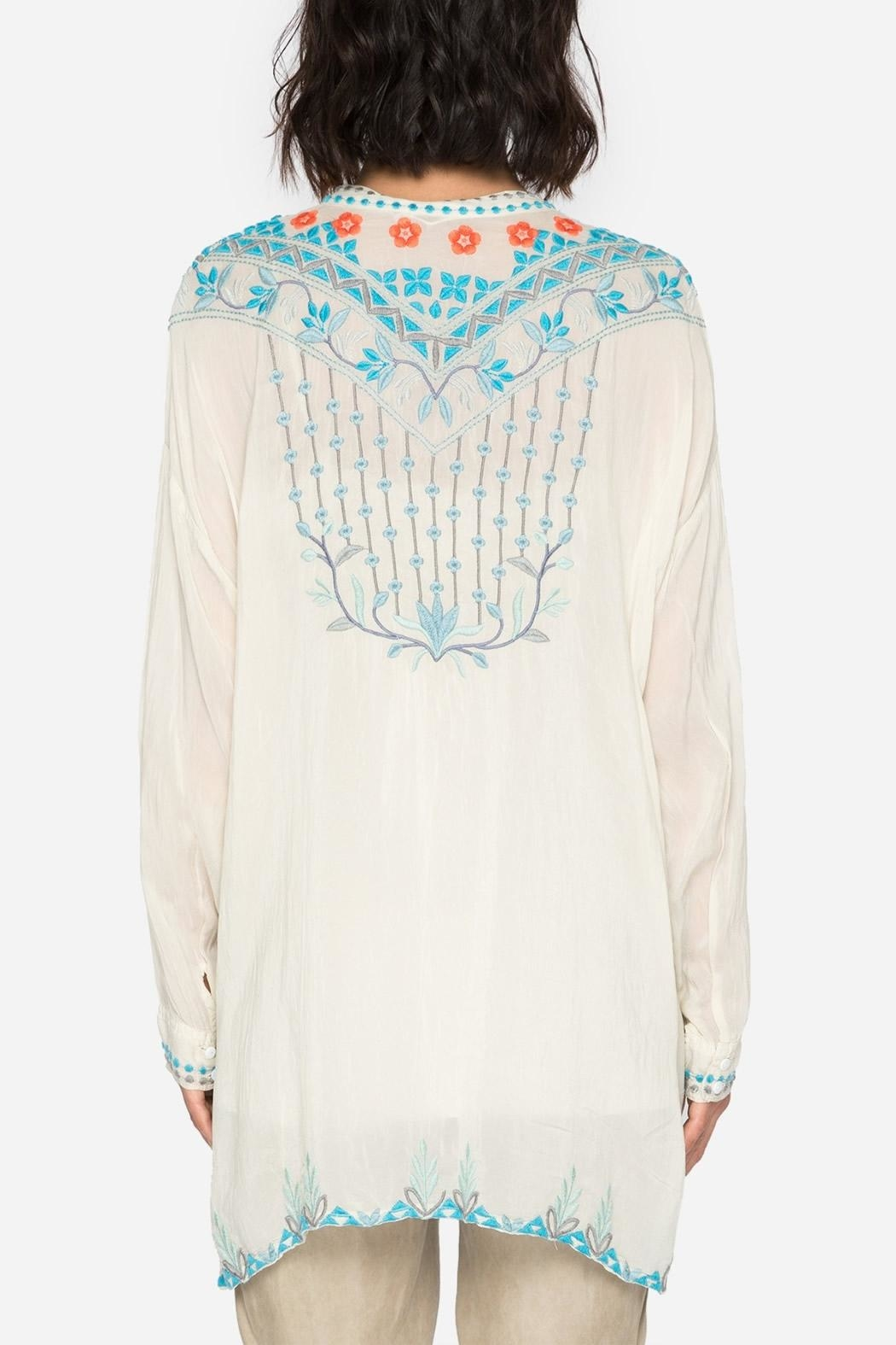 Johnny Was Spring Blouse - Front Full Image