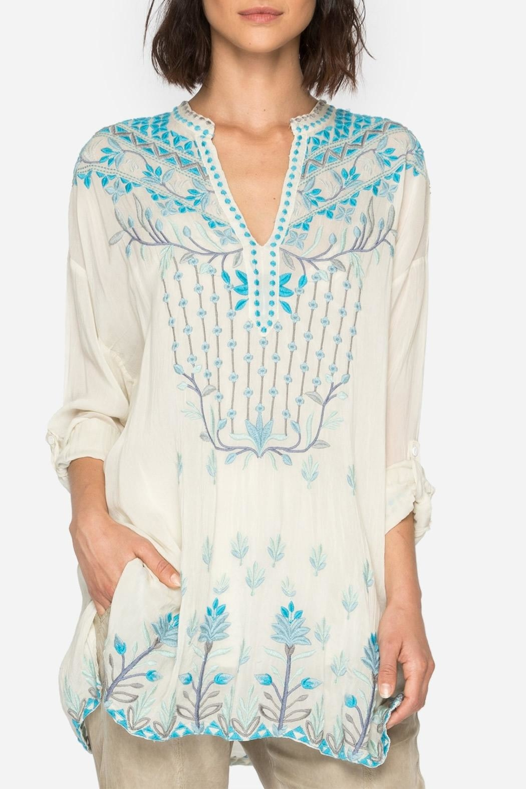 Johnny Was Spring Blouse - Main Image
