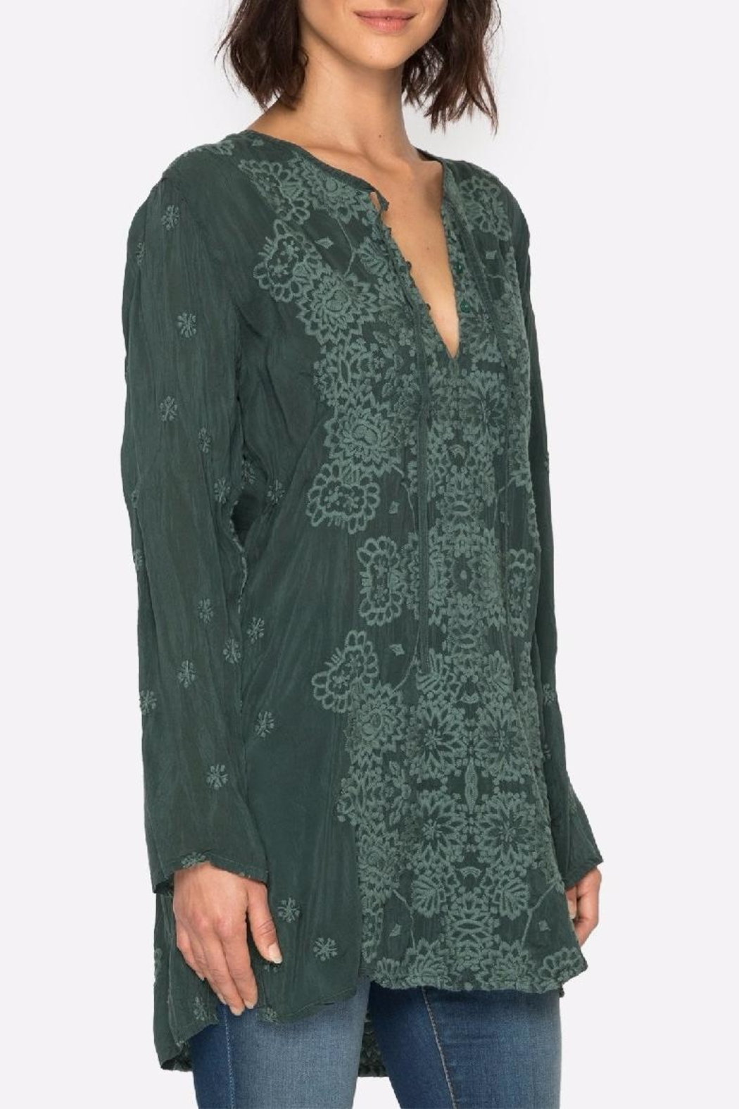 Johnny Was Stars Popover Tunic Top - Main Image