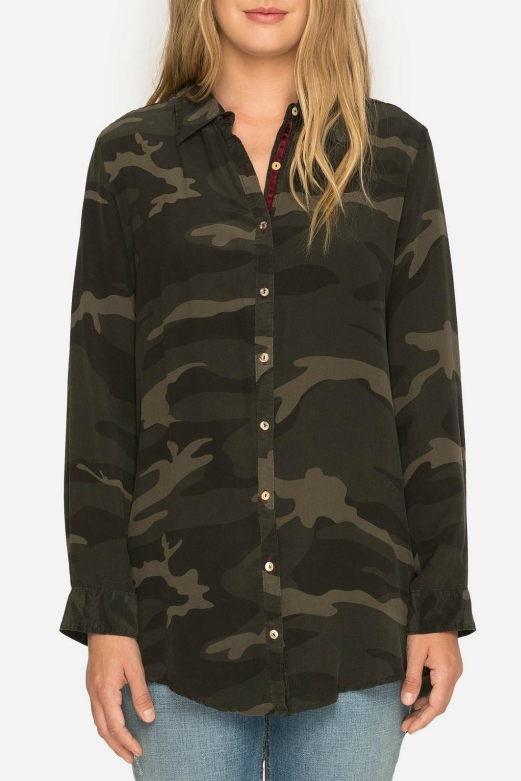 Johnny Was Terre Camo Shirt - Front Full Image