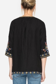 Johnny Was Tiwa Peasant Blouse - Back cropped