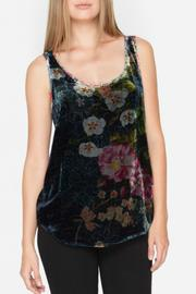 Johnny Was Velvet Floral Tank - Product Mini Image