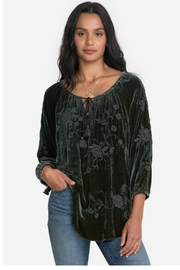 Johnny Was Velvet Peasant Top - Product Mini Image