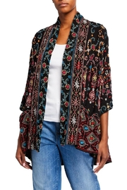 Vintage Coats & Jackets | Retro Coats and Jackets Waverly Kimono $298.00 AT vintagedancer.com