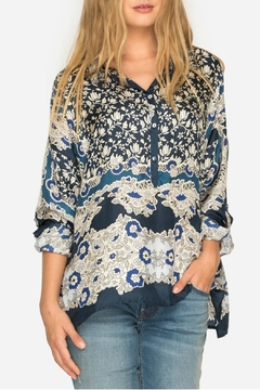 Johnny Was Wishing Print Blouse - Product List Image