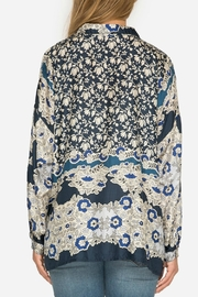Johnny Was Wishing Print Blouse - Side cropped