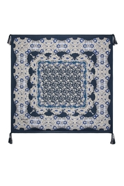 Johnny Was Wishing Silk Scarf - Front full body