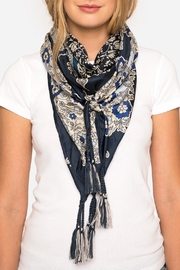 Johnny Was Wishing Silk Scarf - Front cropped
