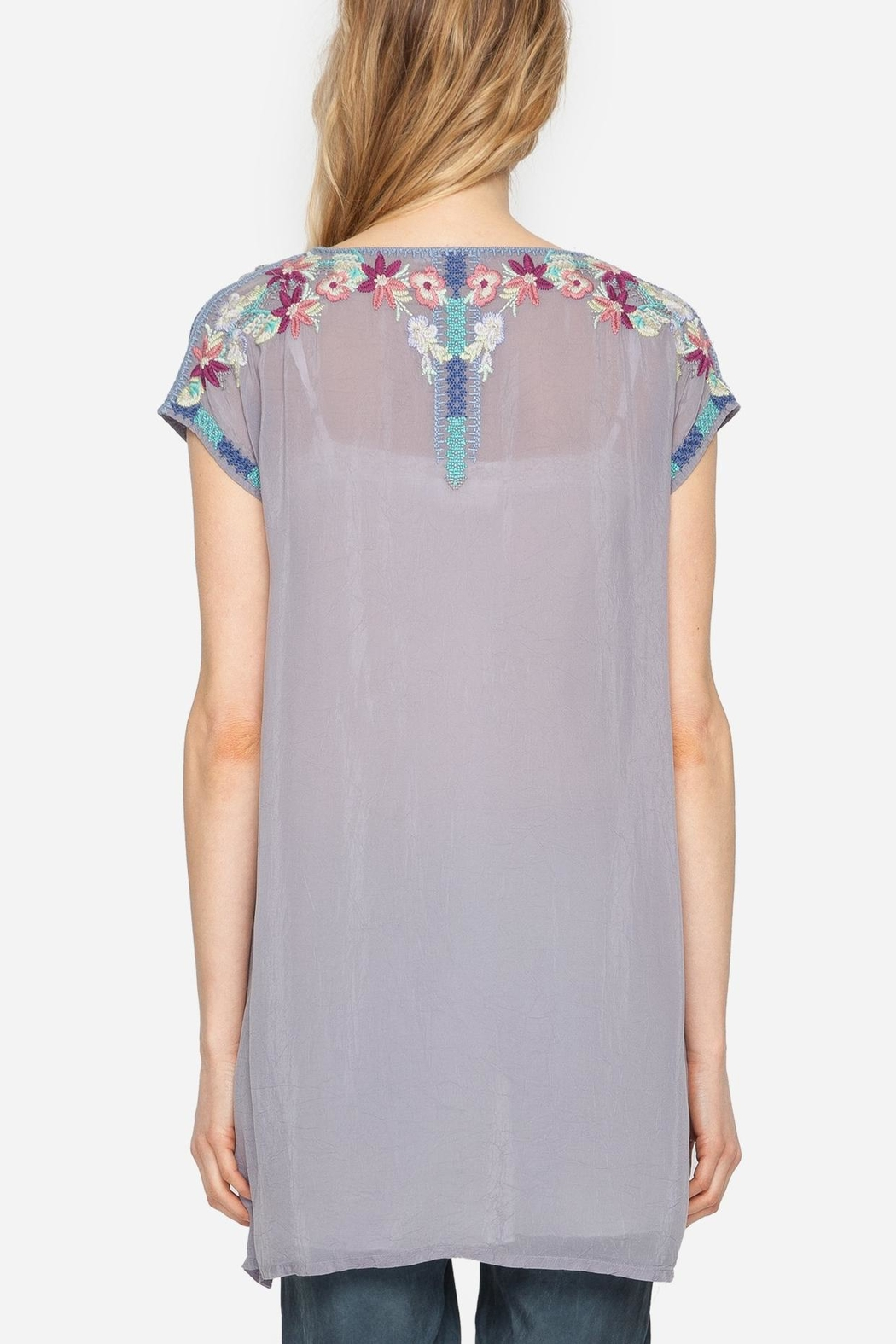 Johnny Was Yasi Embroidered Tunic - Front Full Image