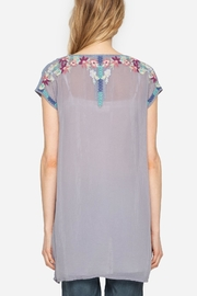 Johnny Was Yasi Embroidered Tunic - Front full body