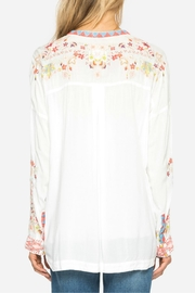 Johnny Was Yoon Embroidered Top - Back cropped