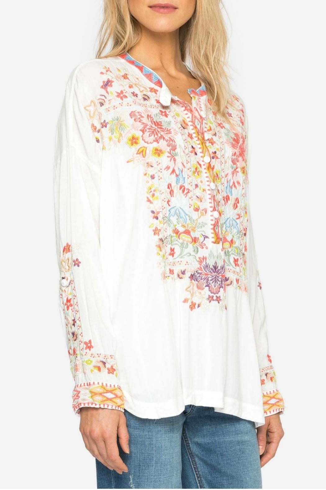 77a8b80a19c87c Johnny Was Yoon Embroidered Top from Texas by j.Winston — Shoptiques