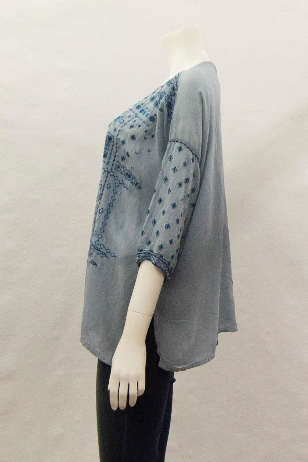 Johnny Was Collection Amaru Blouse - Front Full Image