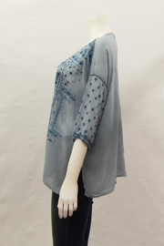 Johnny Was Collection Amaru Blouse - Front full body
