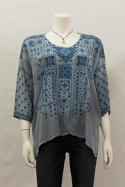 Johnny Was Collection Amaru Blouse - Product Mini Image