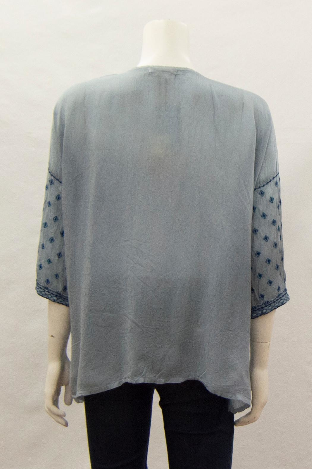 Johnny Was Collection Amaru Blouse - Side Cropped Image