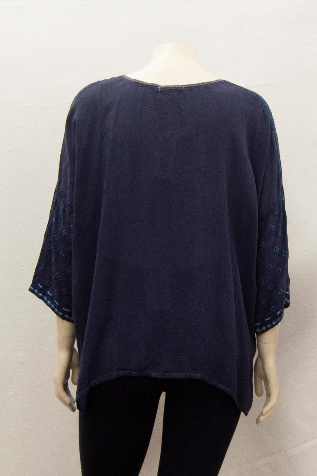 Johnny Was Collection Amaru Blouse Plus - Front Full Image