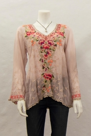 Johnny Was Collection Cristabella Blouse - Product Mini Image