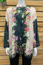 Johnny Was Collection Elianna Blouse - Front cropped