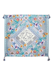 Johnny Was Collection Ellyna Silk Scarf - Front cropped