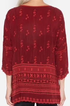 Shoptiques Product: Embroidered Rayon Tee