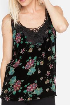 Shoptiques Product: Floral Burnout Tank