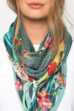 Johnny Was Collection Freemont Silk  Scarf - Alternate List Image