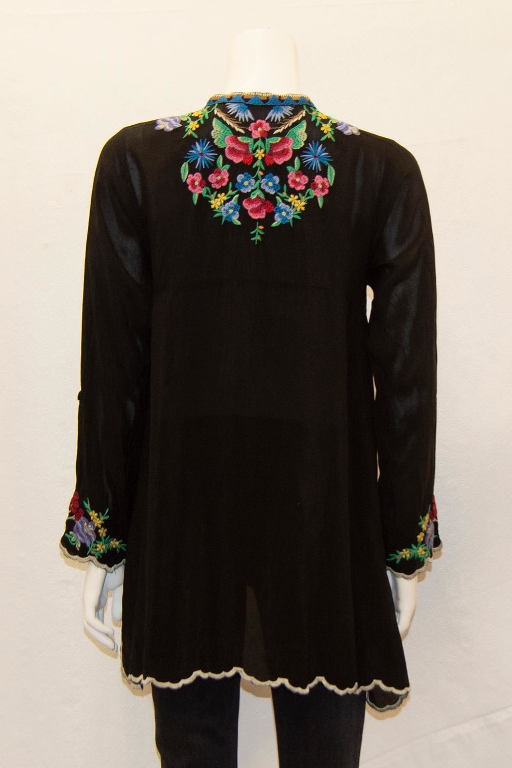 Johnny Was Collection Gala Tunic - Front Full Image