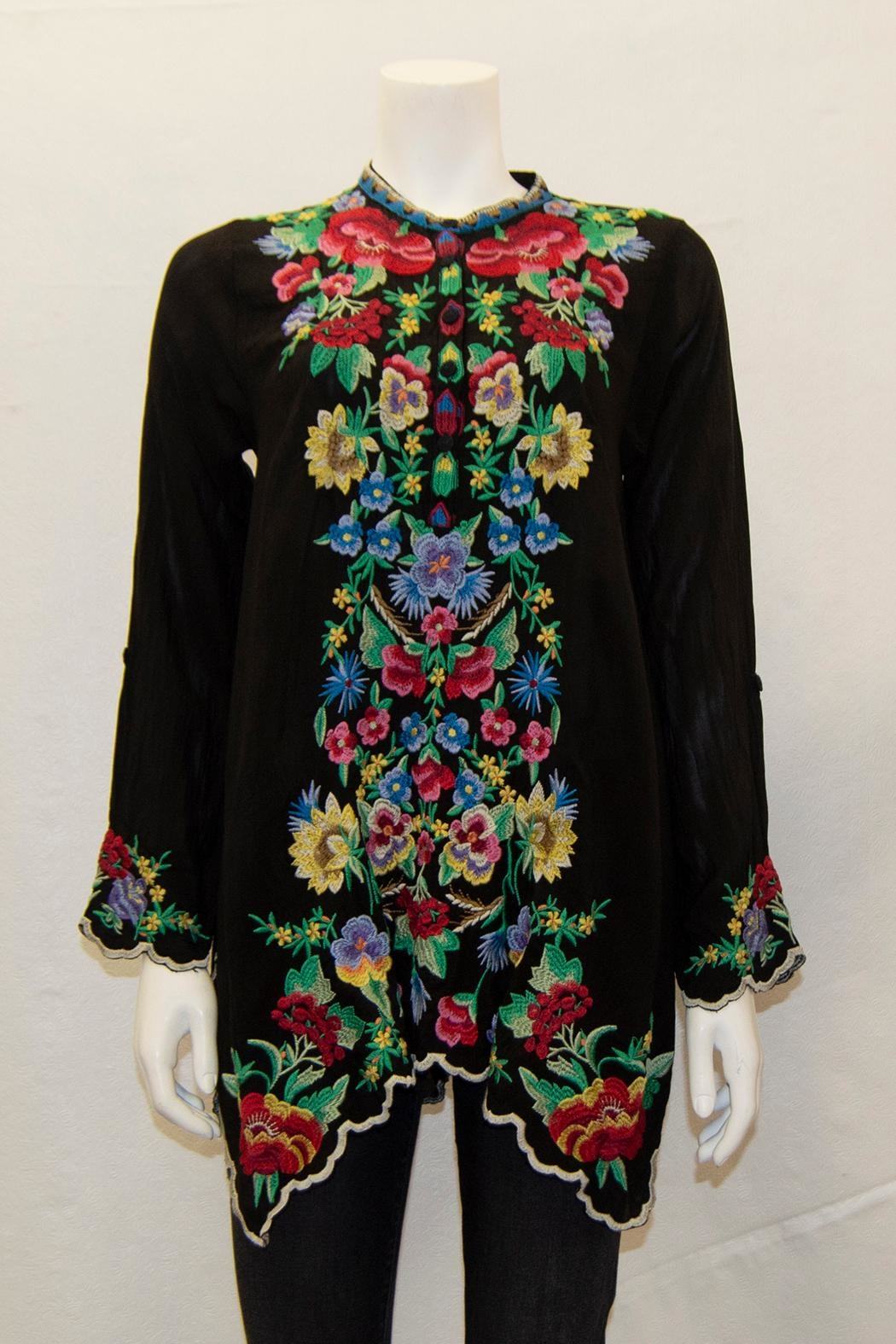 Johnny Was Collection Gala Tunic - Main Image