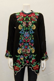 Johnny Was Collection Gala Tunic - Front cropped