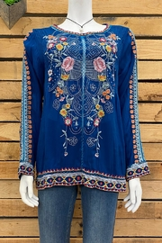 Johnny Was Collection Jolie Blouse - Front cropped