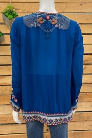 Johnny Was Collection Jolie Blouse - Side cropped
