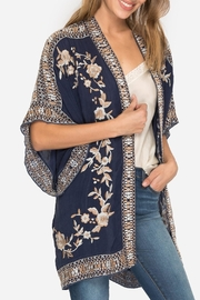 Johnny Was Collection Kayo Kimono - Front cropped
