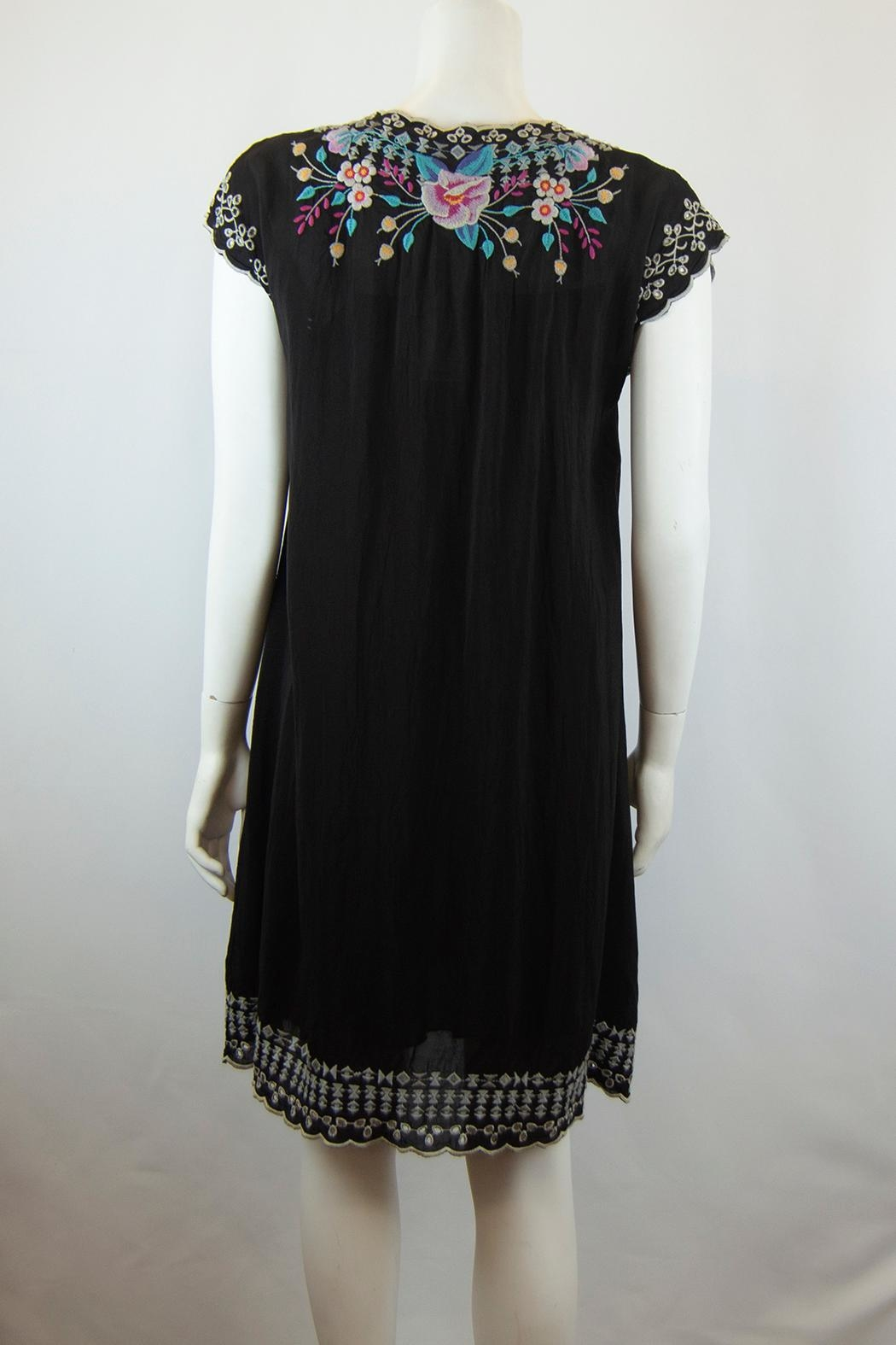 Johnny Was Collection Keva Dress - Side Cropped Image