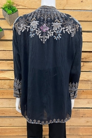 Johnny Was Collection Mandiya Blouse - Back cropped