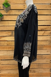 Johnny Was Collection Mandiya Blouse - Front full body