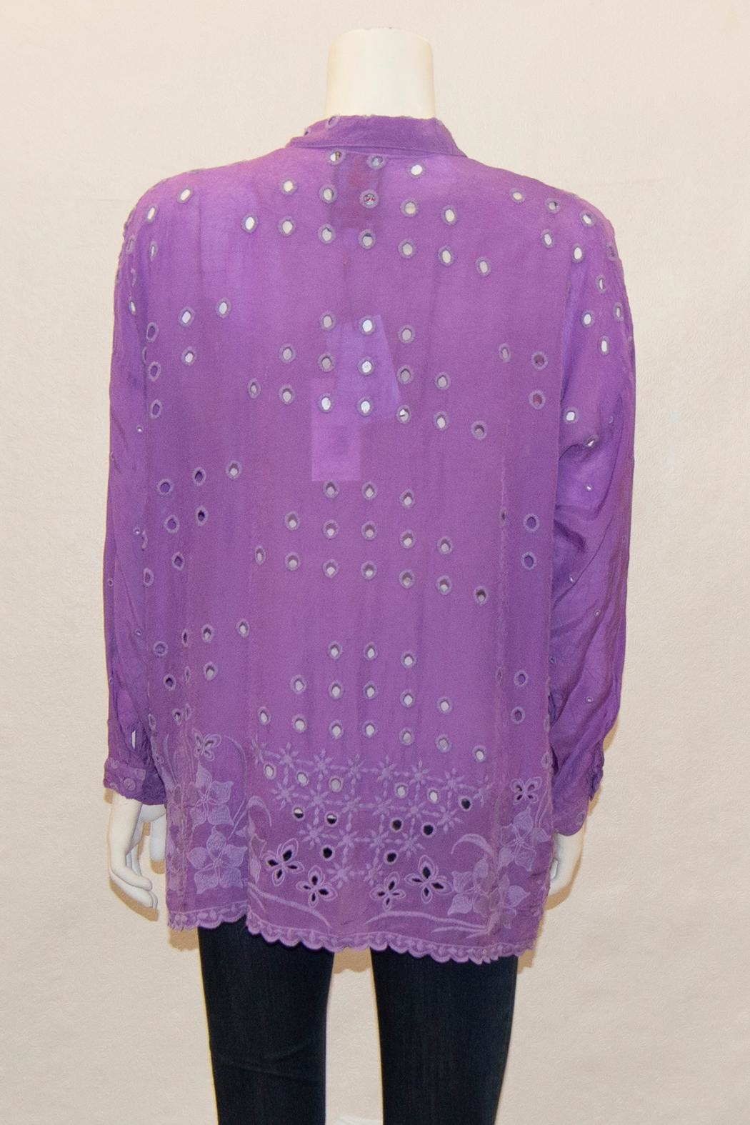 Johnny Was Collection Mindy Blouse - Front Full Image