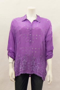 Johnny Was Collection Mindy Blouse - Product List Image