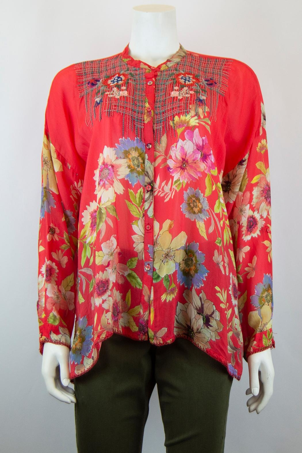Johnny Was Collection Odessa Blouse - Main Image