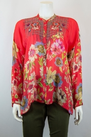 Johnny Was Collection Odessa Blouse - Front cropped