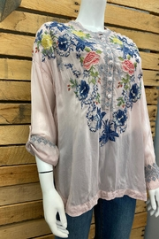 Johnny Was Collection Odette Blouse - Front full body