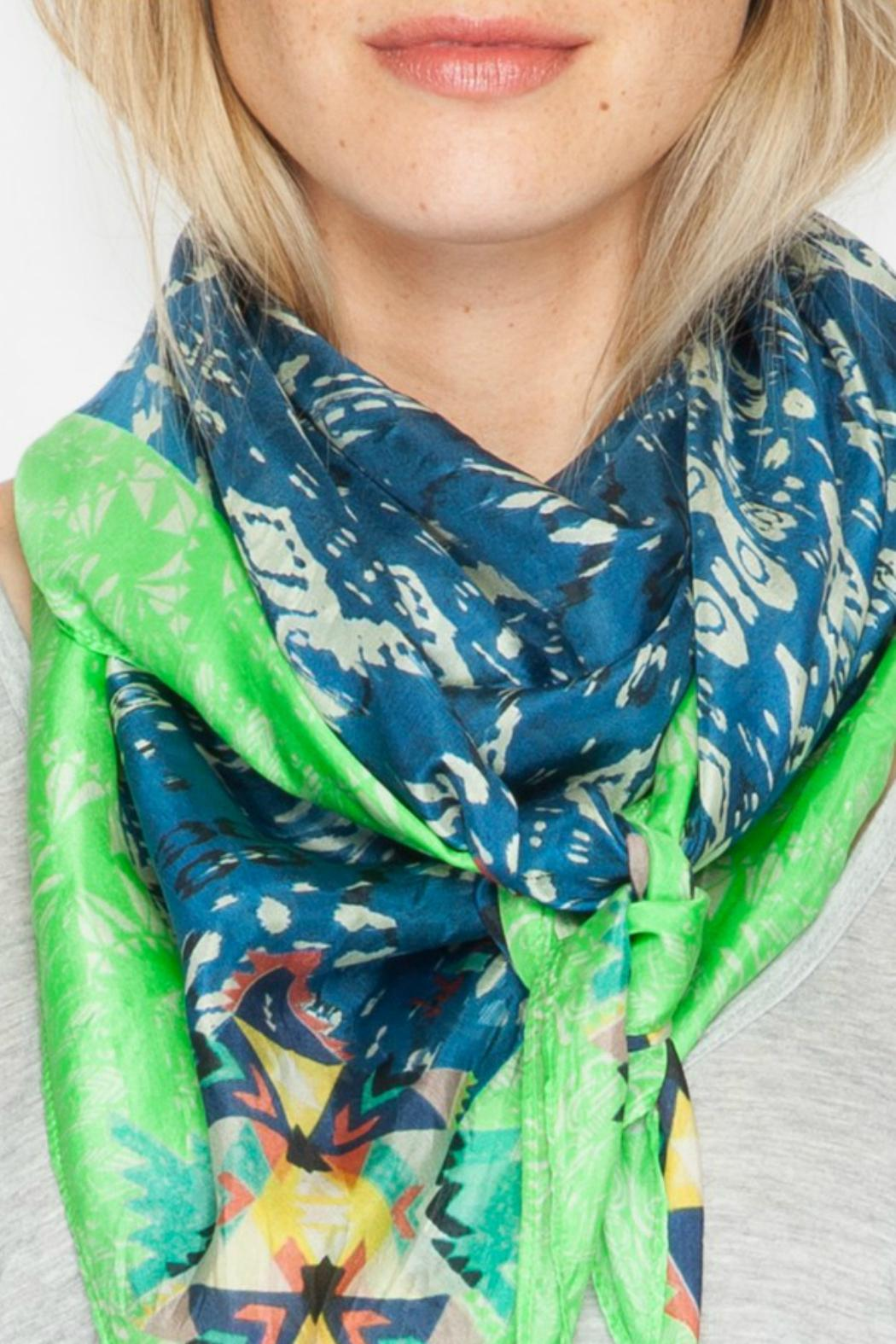Johnny Was Puente Silk Scarf - Front Full Image