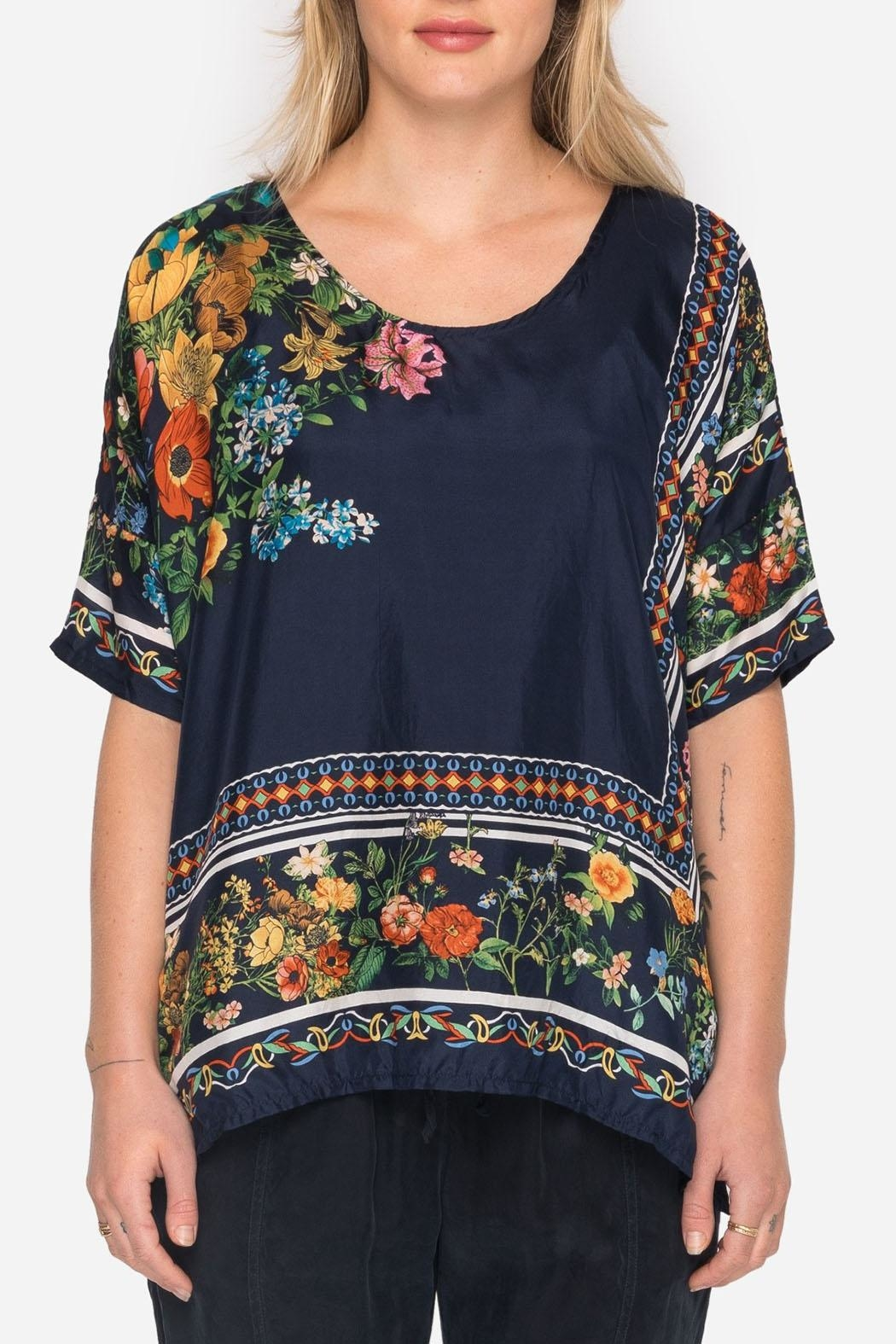 Johnny Was Collection Rosanna Top - Front Full Image