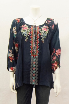 Johnny Was Collection Sheera Blouse - Product List Image