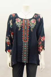 Johnny Was Collection Sheera Blouse - Front cropped