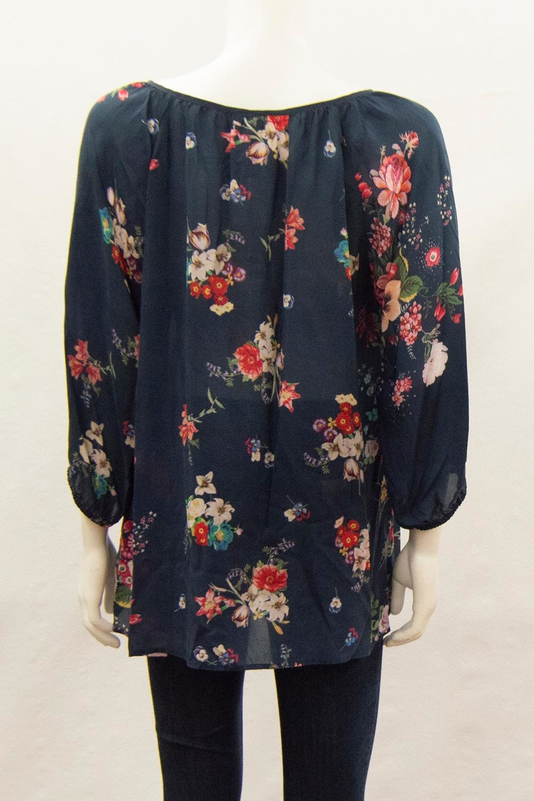 Johnny Was Collection Sheera Blouse - Front Full Image