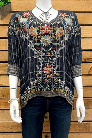 Johnny Was Collection Sienna Blouse - Front cropped